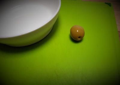 A beautiful little olive